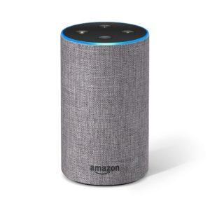 Das neue Amazon Echo (2. Generation), Hellgrau Stoff PLATZ 4