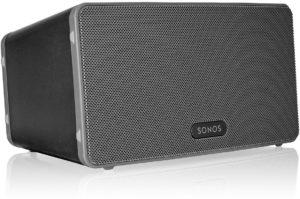 Sonos PLAY 3 WLAN-Lautsprecher für Musikstreaming schwarz PLATZ 2